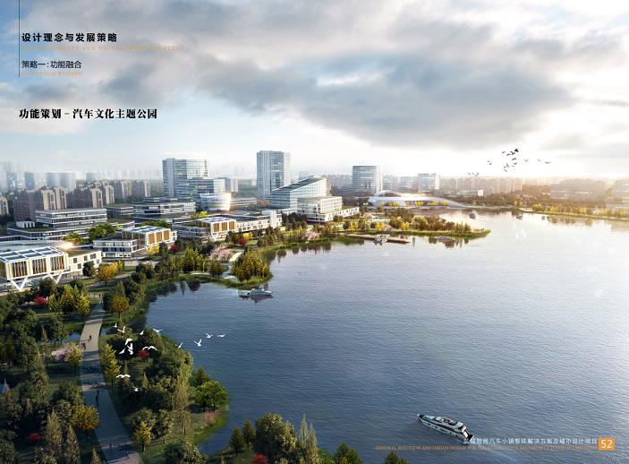 盐城智尚汽车小镇整体解决方案城市设计2018-汽车文化主题公园