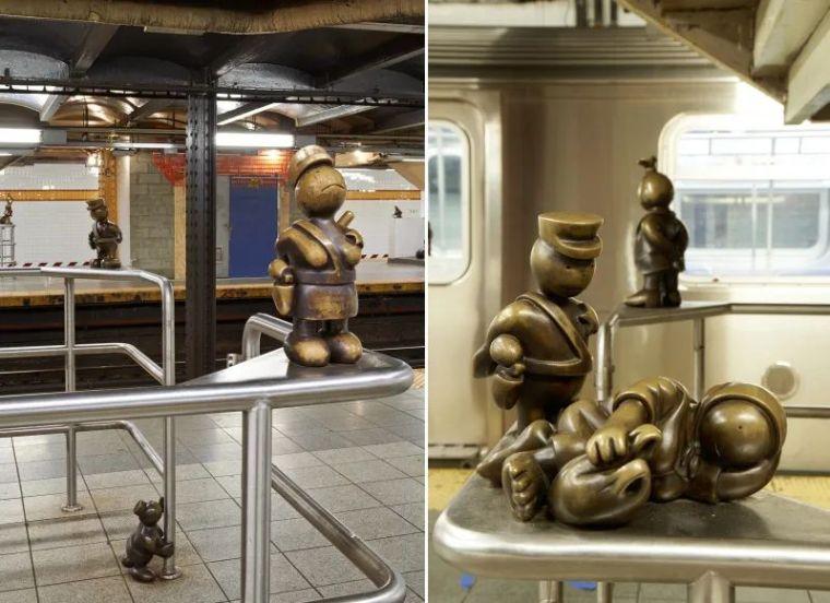 他设计了受全世界欢迎的雕塑,却也引人深思_34