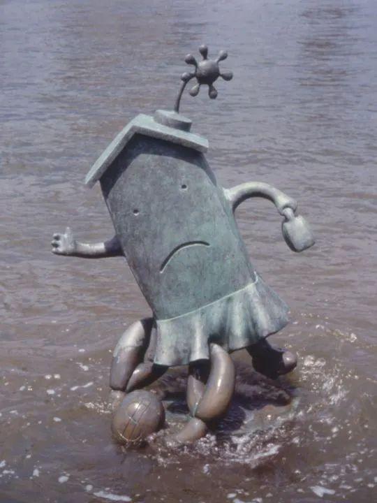 他设计了受全世界欢迎的雕塑,却也引人深思_36