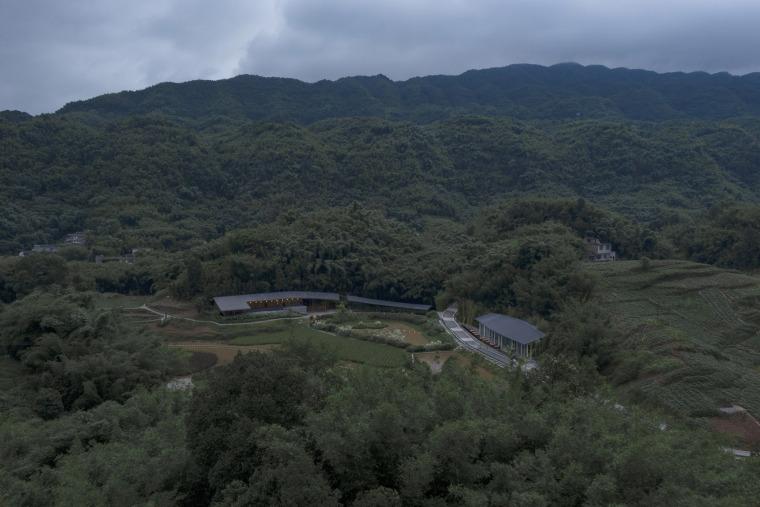 四川竹枝书院外部实景图1