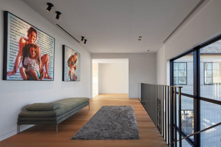 芝加哥滨水双层住宅室内实景图 (6)