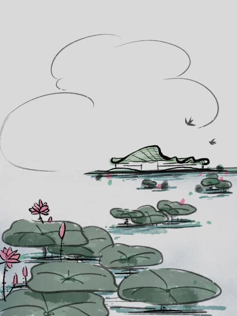 立木公布丰子恺艺术中心设计_9