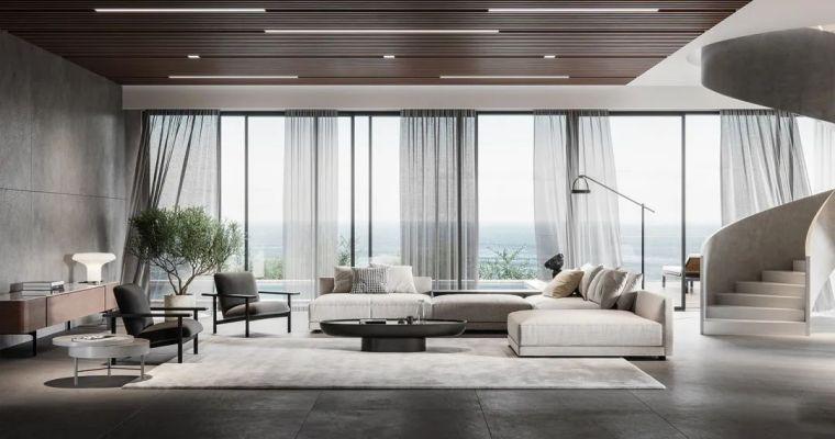 低调奢华空间气质,极致的现代美感_3