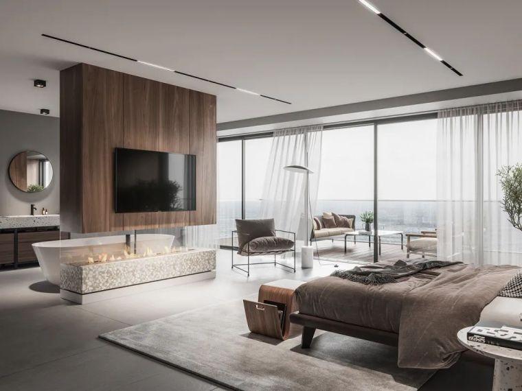 低调奢华空间气质,极致的现代美感_10
