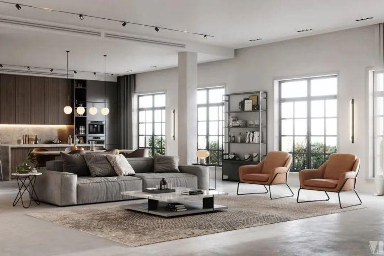 低调奢华空间气质,极致的现代美感_25