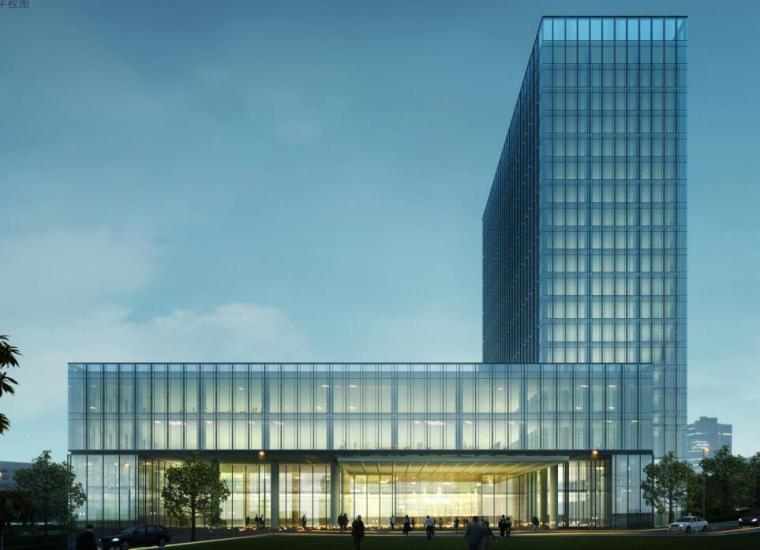 [山东]青岛现代风格酒店方案设计-0 1平视图