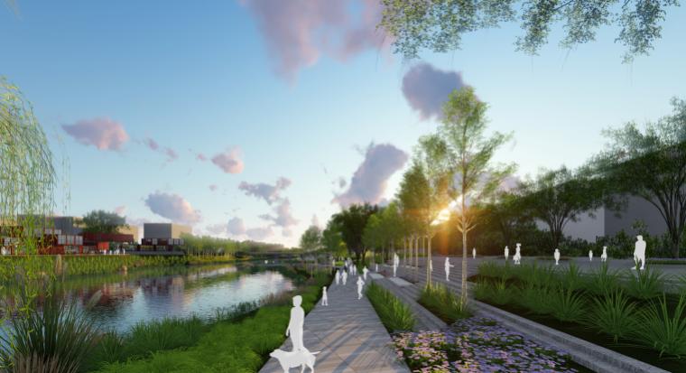 [山东]烟台黄金河河滨公园景观方案设计-生活区