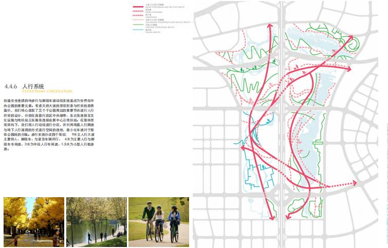 [四川]成都天府中央公园概念方案设计SWA-人行系统