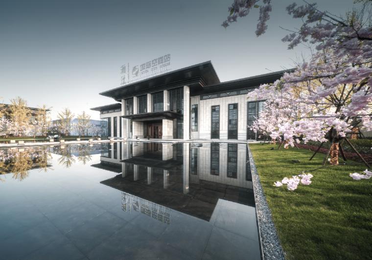 绿地湘江城际空间站展示中心外部效果图 (4)