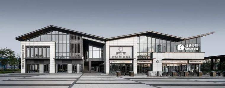 绿地湘江城际空间站展示中心外部效果图 (15)