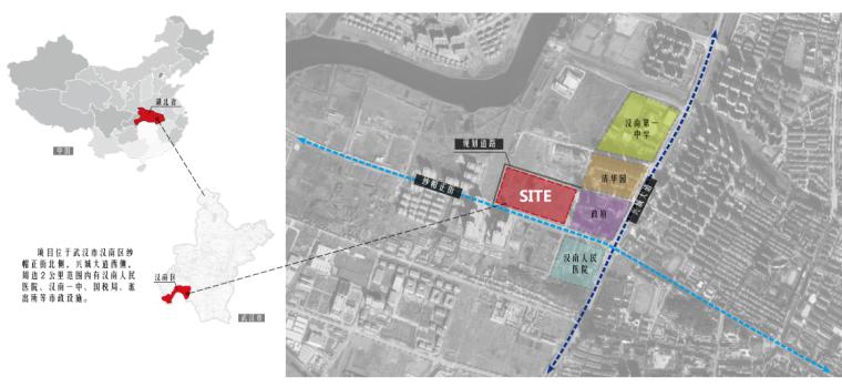 [武汉]蓝光·汉南雍锦天府大区景观深化方案-3-蓝光· 汉南雍锦天府大区-区位分析