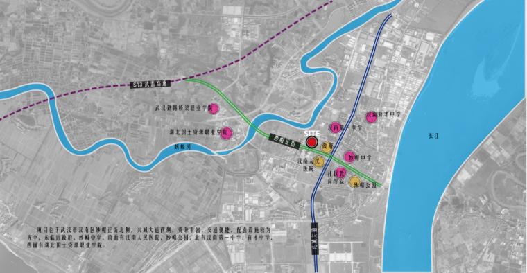 [武汉]蓝光·汉南雍锦天府大区景观深化方案-4-蓝光· 汉南雍锦天府大区-区位分析