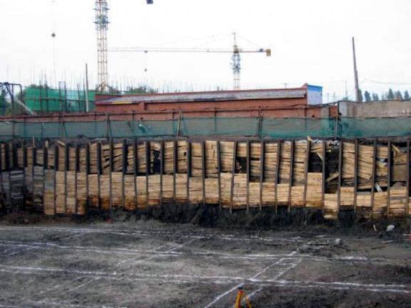 土木工程施工-第2讲-土方工程施工要点-连续式水平挡土板支撑