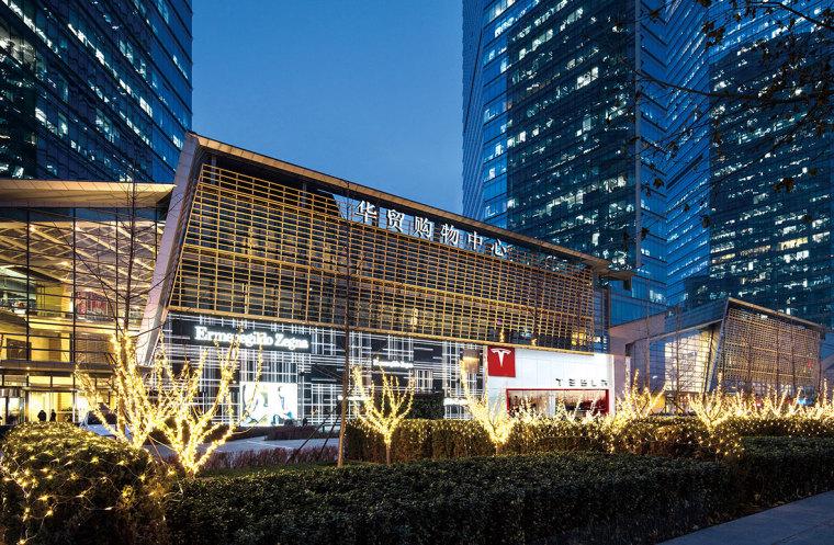[北京]4000㎡特斯拉总部办公空间设计施工图-北京华贸中心-特斯拉 (1)