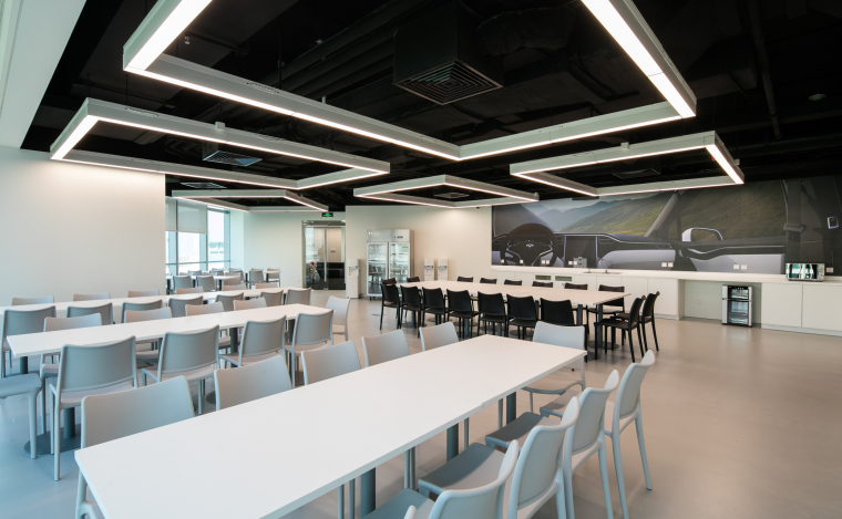 [北京]4000㎡特斯拉总部办公空间设计施工图-设计脑 (2)