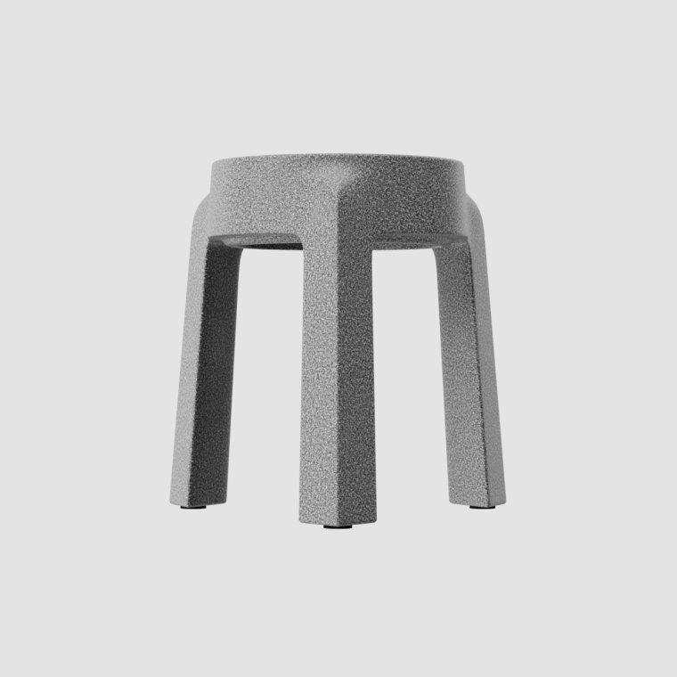 多姿多彩的UFO塑料堆叠凳设计2