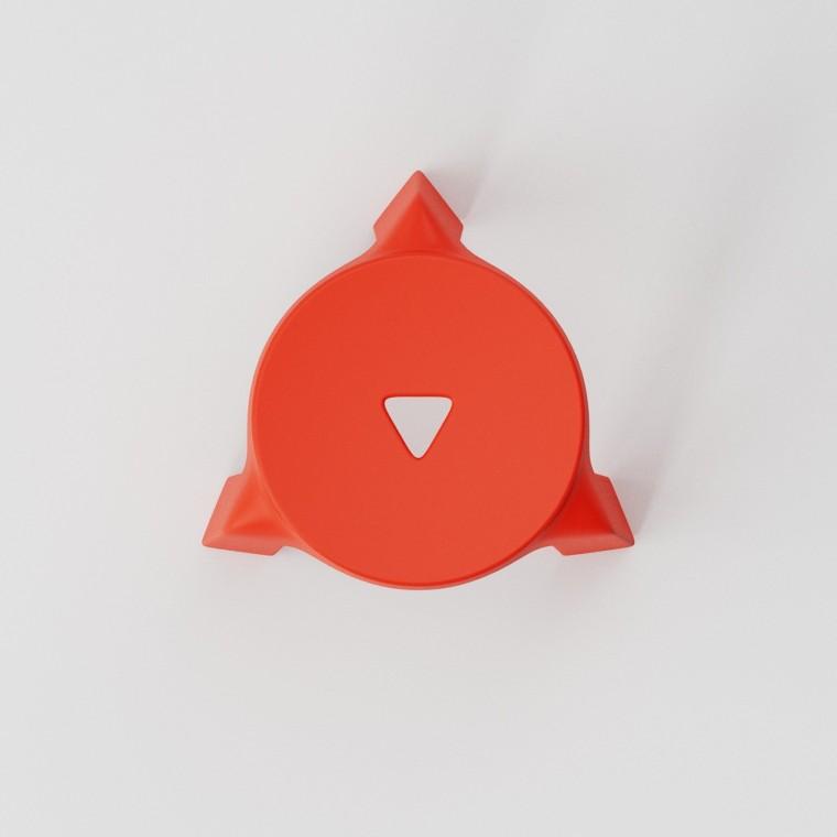 多姿多彩的UFO塑料堆叠凳设计5