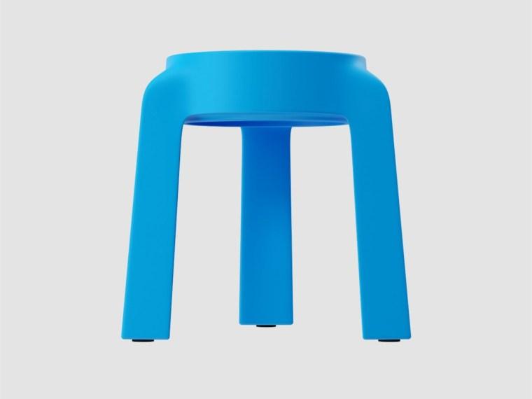 多姿多彩的UFO塑料堆叠凳设计-00