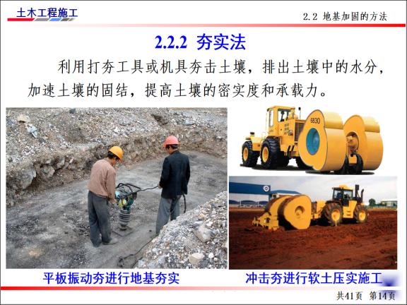 土木工程施工-第4讲-基坑验槽及地基加固处-夯实法