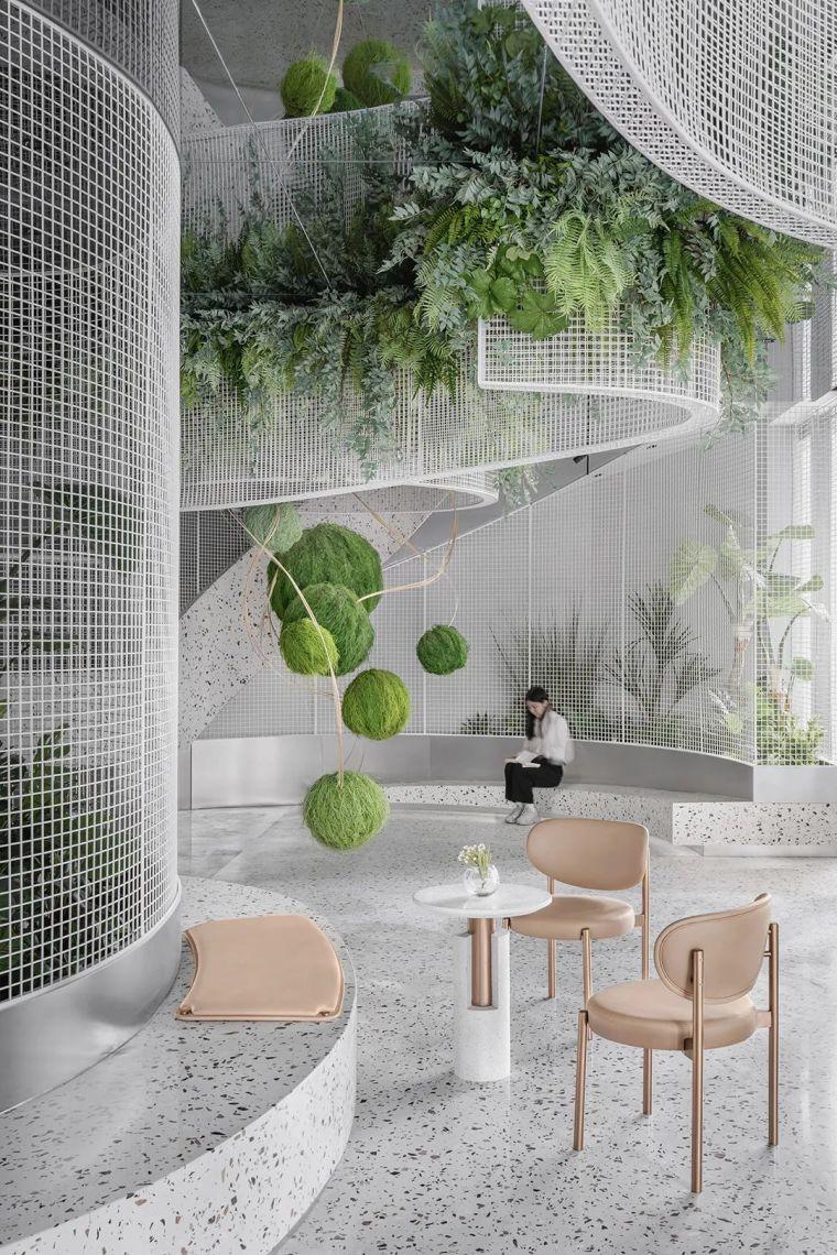 万科将售楼处打造成奇妙花园,满满的诗意!_2