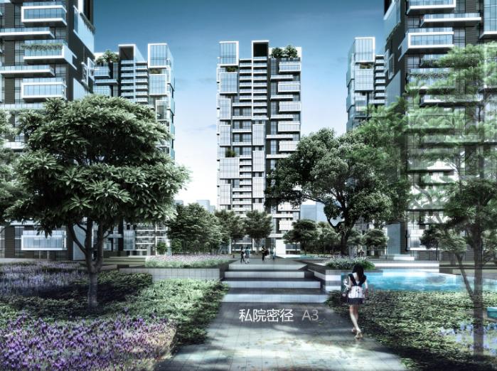 西城集团大学科技园开放式街区楼盘方案文本-效果图5