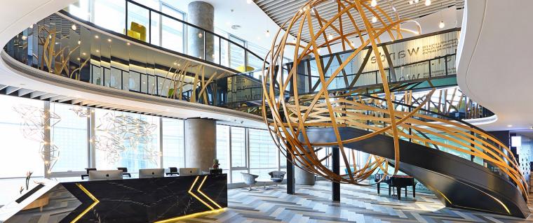 [广州]雅居乐中心4700㎡联合办公空间施工图-设计脑 (1)