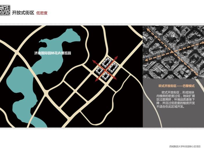 西城集团大学科技园开放式街区楼盘方案文本-低密度