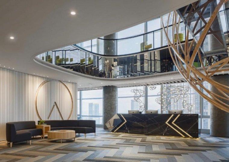[广州]雅居乐中心4700㎡联合办公空间施工图-设计脑 (2)