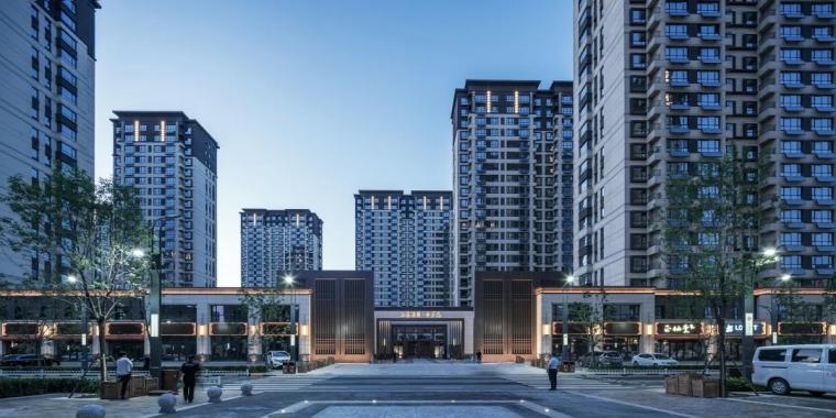 新绎廊坊·上善颐园居住区建筑外部实景图 (3)