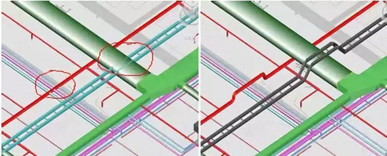 BIM工程综合管线设计原则及排布方法_5