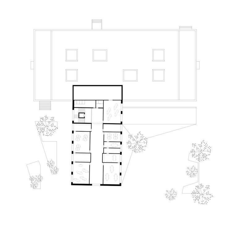 奥地利布泽·沃尔夫特小学平面图4