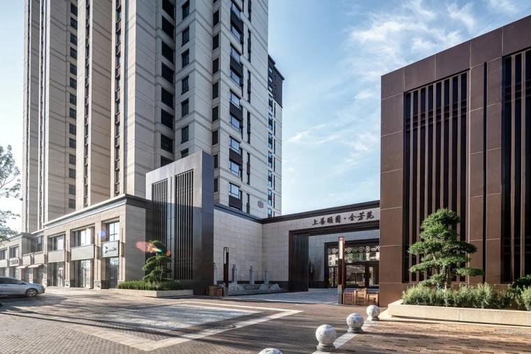 新绎廊坊·上善颐园居住区建筑外部实景图 (7)
