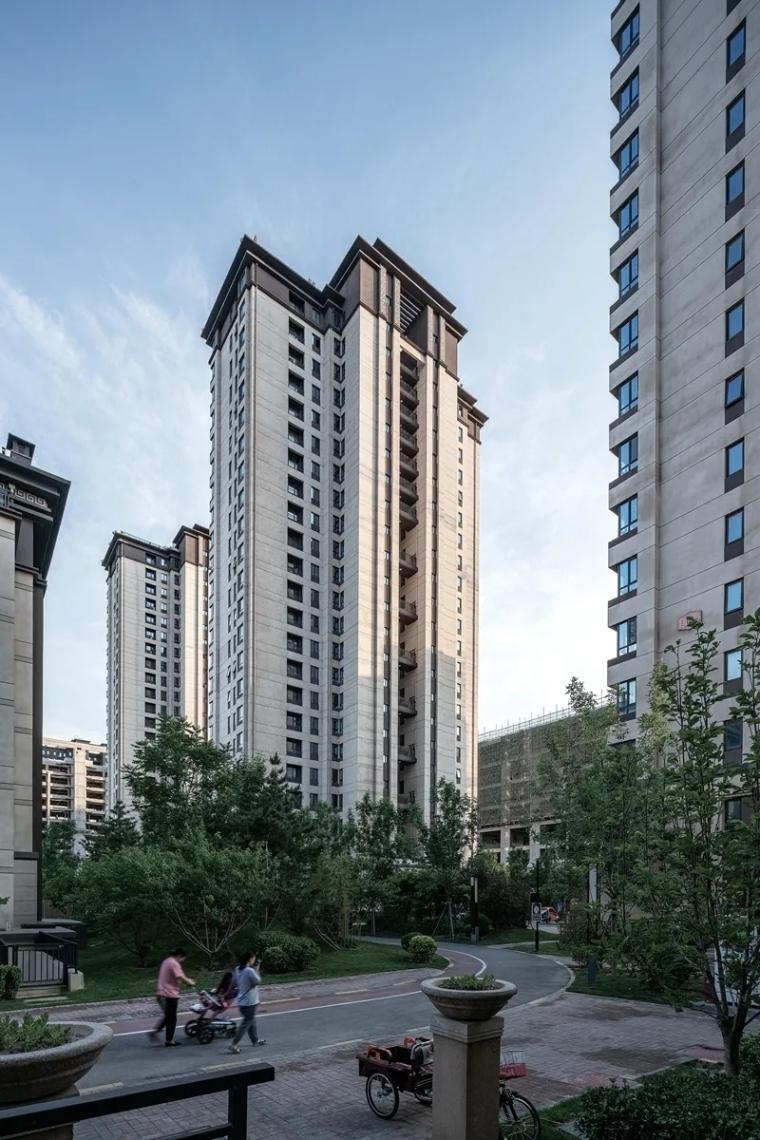 新绎廊坊·上善颐园居住区建筑外部实景图 (8)