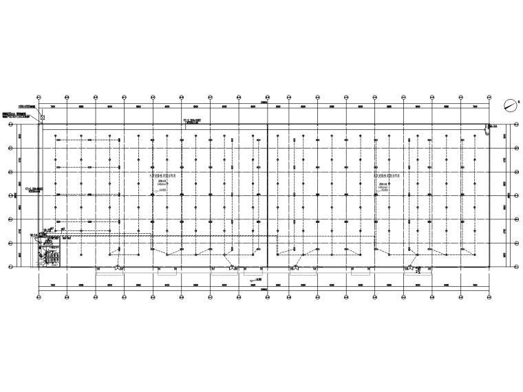 [贵州]某饲料公司厂房电气图纸(2019)-1强电平面图