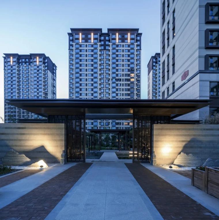 新绎廊坊·上善颐园居住区建筑外部实景图 (12)