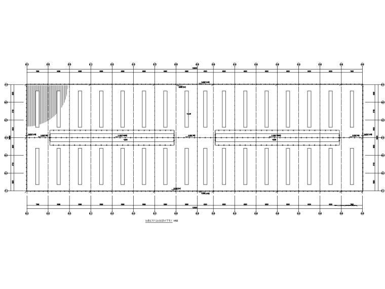 [贵州]某饲料公司厂房电气图纸(2019)-2防雷平面图