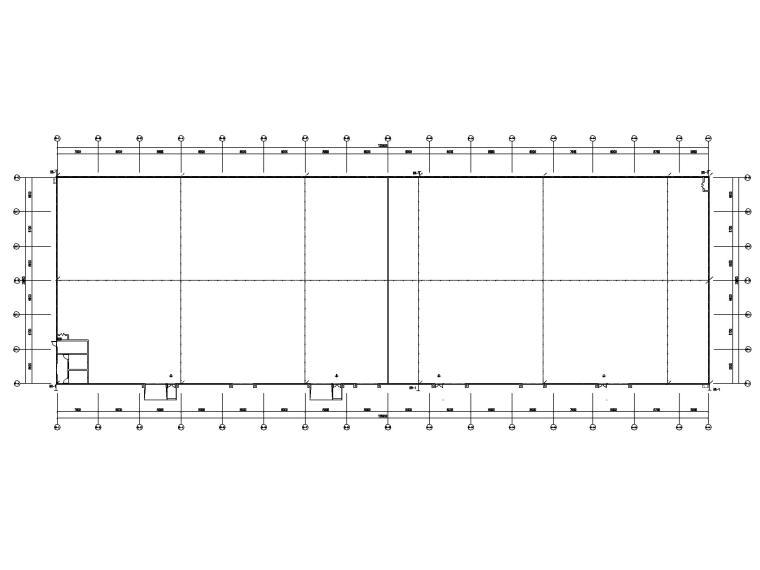 [贵州]某饲料公司厂房电气图纸(2019)-3接地平面图