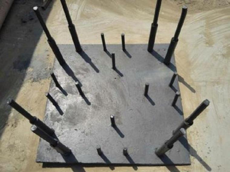 基础工程施工质量保证措施-绑扎柱墩钢筋
