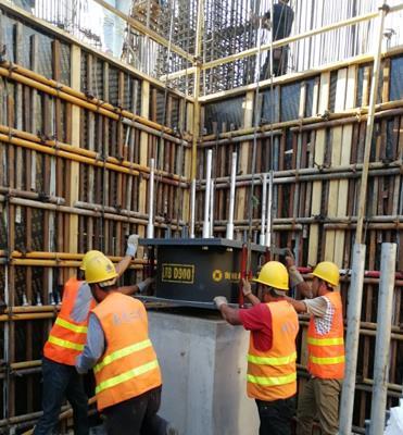 基础工程施工质量保证措施-安装隔震支座