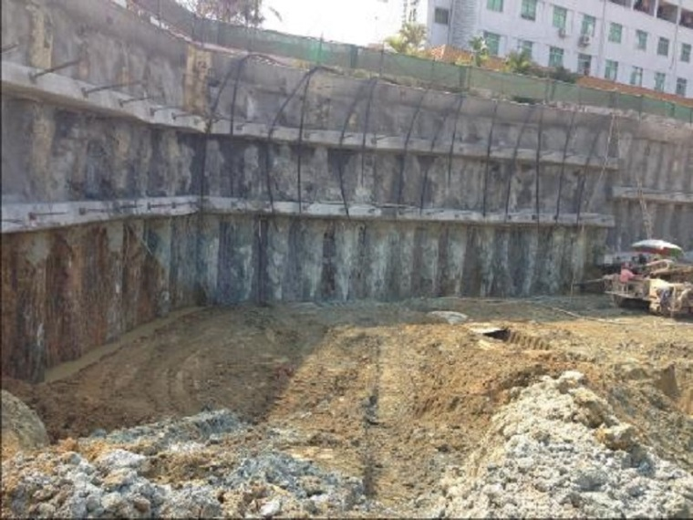 土方开挖与桩锚结构支护施工方案-桩锚结构支护