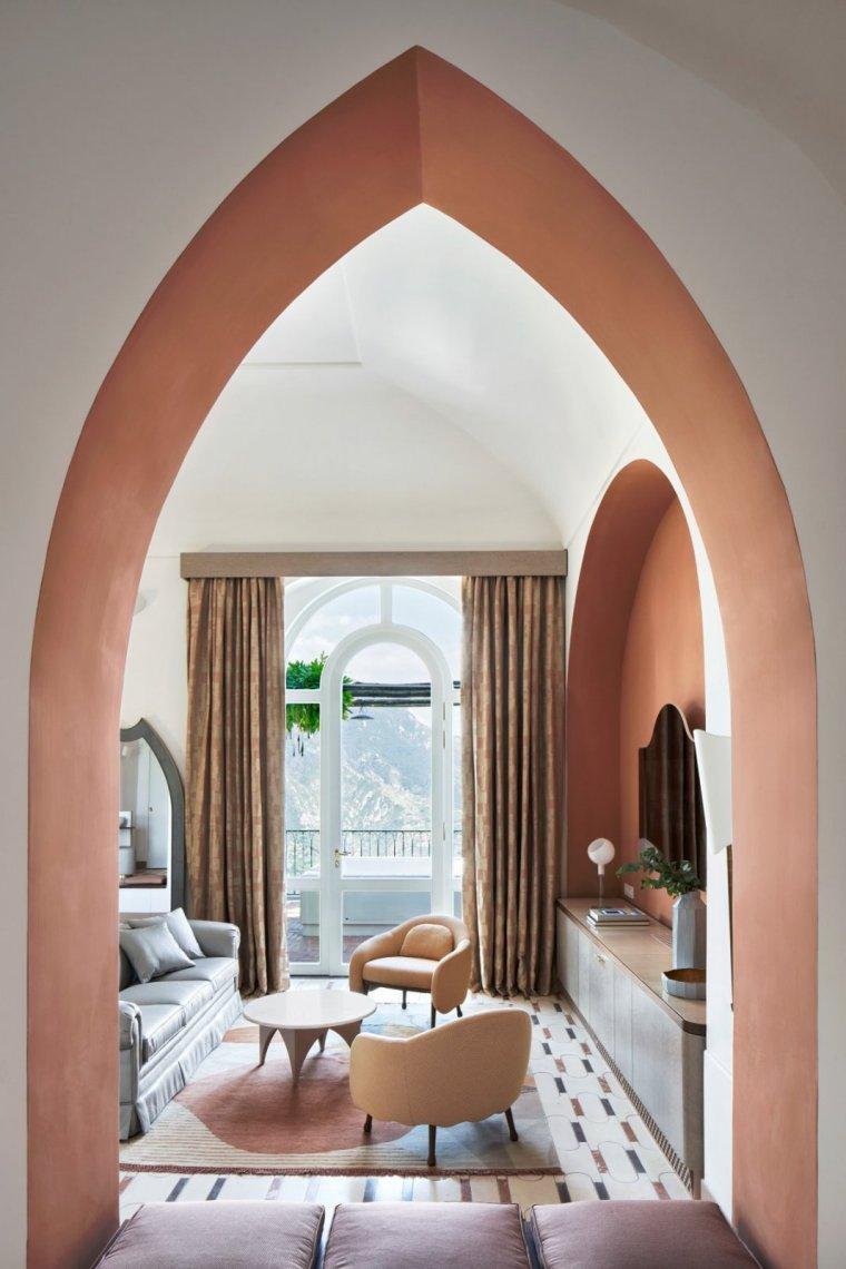意大利PalazzoAvino酒店翻新-意大利Palazzo Avino酒店翻新室内实景图1