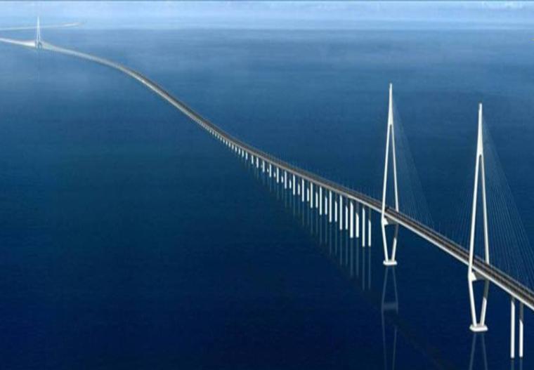 混凝土的技术研究及其在重大工程中的应用-跨海大桥