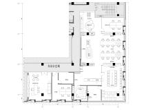 [上海]御河硅谷365㎡现代运营办公室施工图