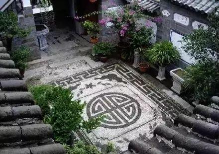 中式庭院铺装,美!_8