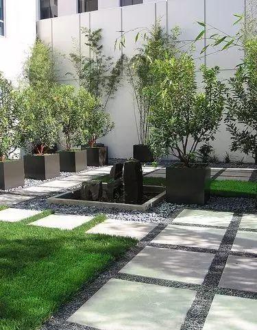 中式庭院铺装,美!_50