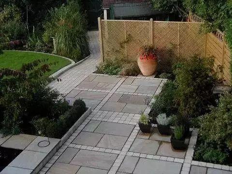 中式庭院铺装,美!_36