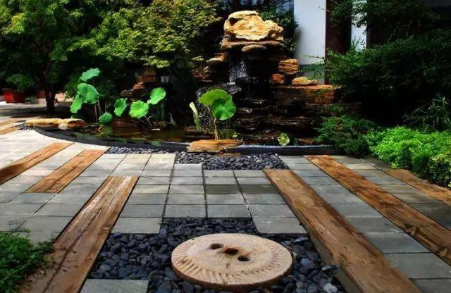 中式庭院铺装,美!_37