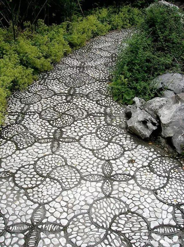 中式庭院铺装,美!_38