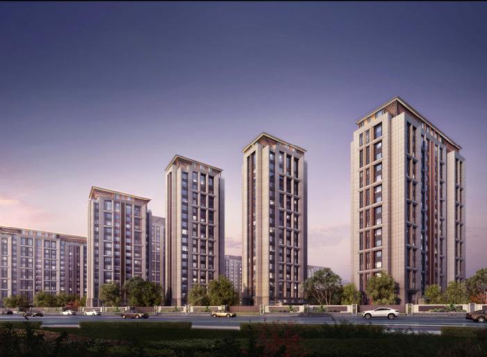 [北京]旧宫镇低密度公园豪宅社区方案文本-效果图1