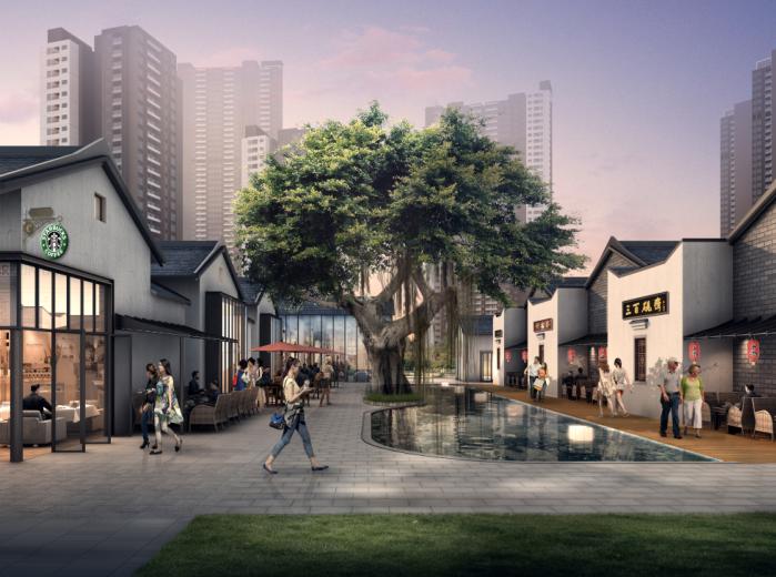 保达五联城市更新综合住区规划设计文本2016-效果图3